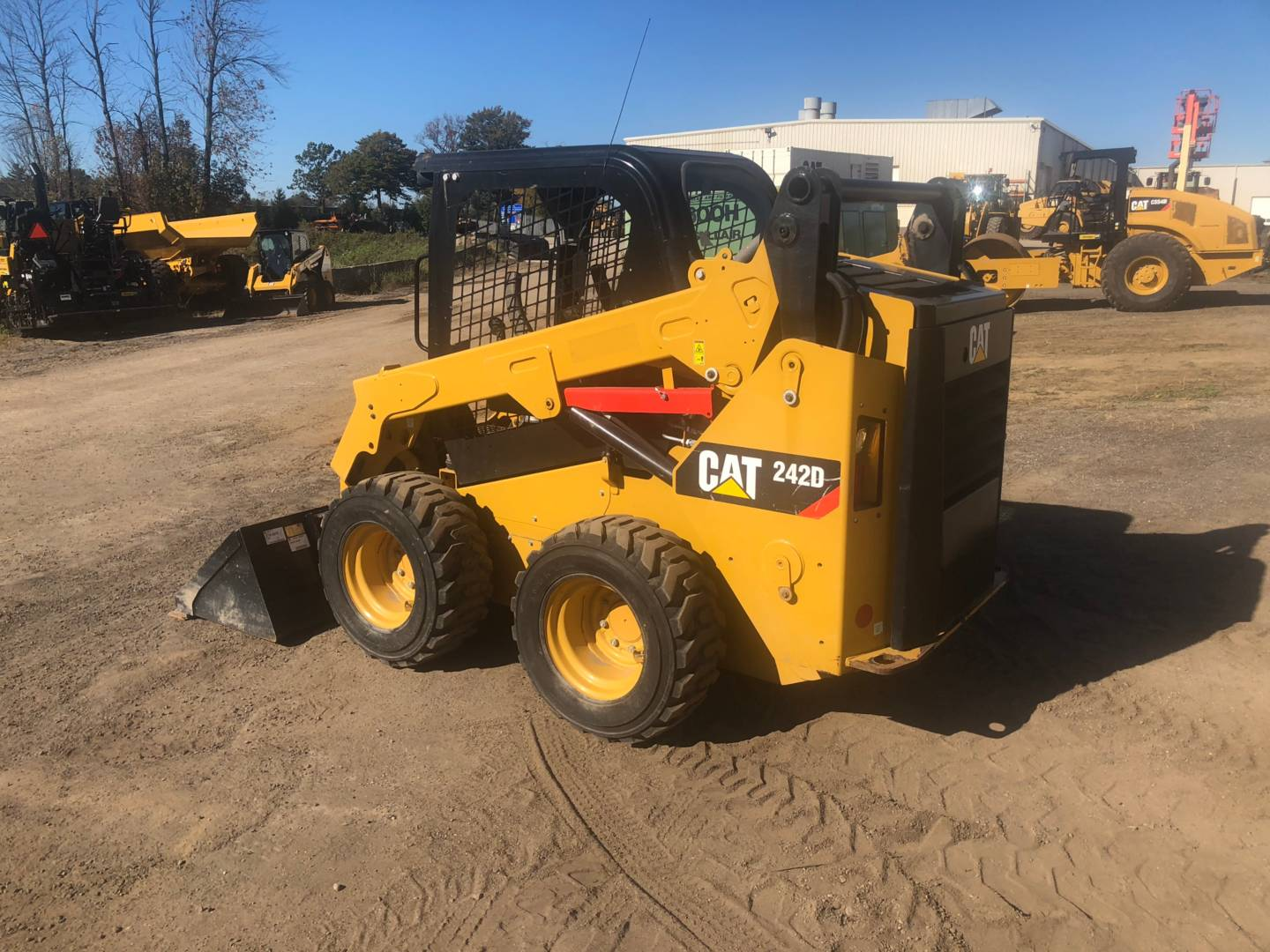 Used 2016 Caterpillar 242d For Sale In Nj Pa De And