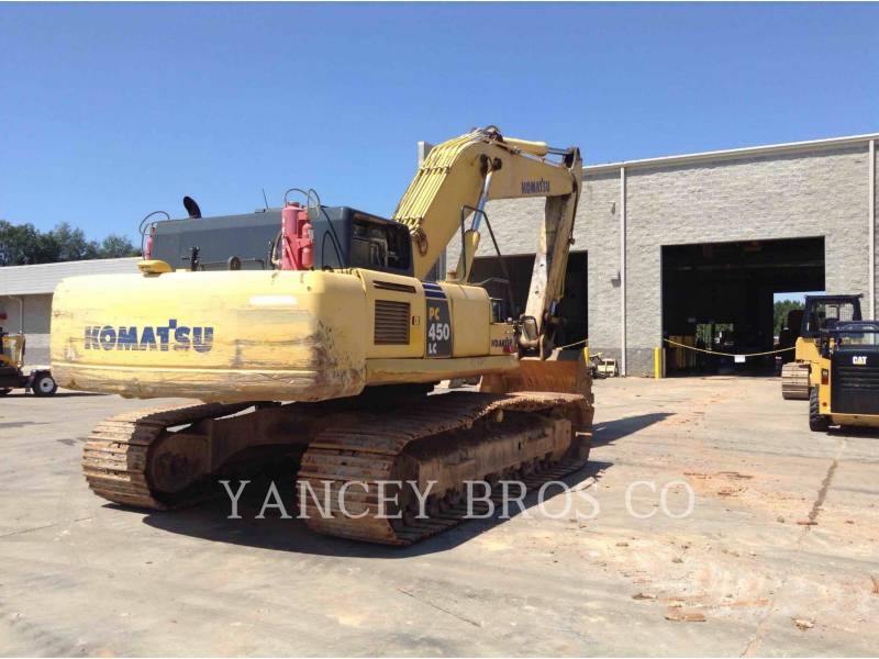 KOMATSU EXCAVADORAS DE CADENAS PC450 equipment  photo 3