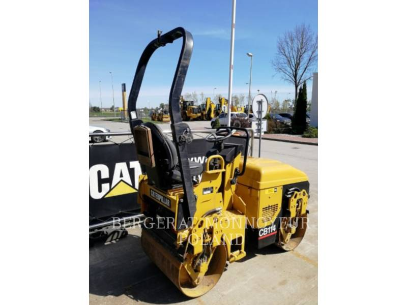 CATERPILLAR VIBRATORY DOUBLE DRUM ASPHALT CB-114 equipment  photo 3