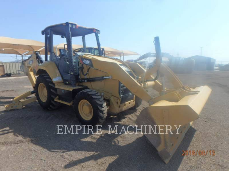 CATERPILLAR CHARGEUSES-PELLETEUSES 420F2ST equipment  photo 1