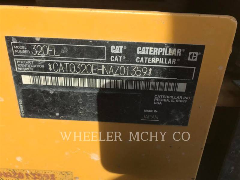 CATERPILLAR EXCAVADORAS DE CADENAS 320E L CF equipment  photo 6