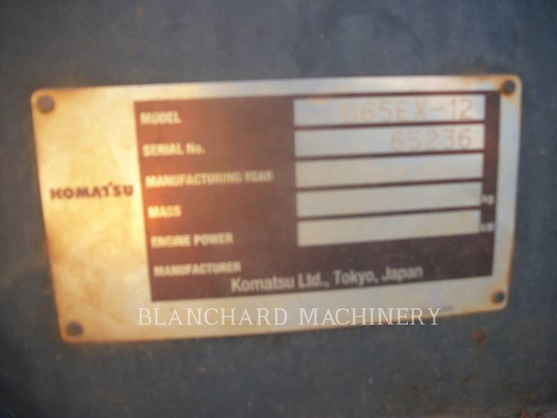 KOMATSU LTD. KETTENDOZER D65EX-12 equipment  photo 9