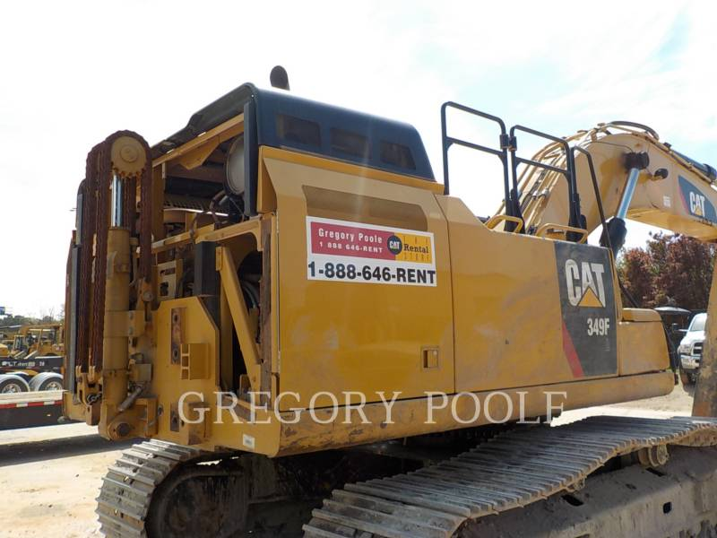 CATERPILLAR TRACK EXCAVATORS 349F L equipment  photo 11