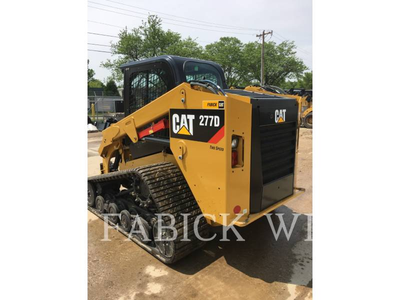 CATERPILLAR CHARGEURS TOUT TERRAIN 277D equipment  photo 3