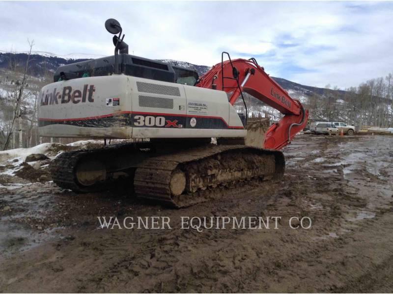 LINK-BELT CONST. TRACK EXCAVATORS 300X3 THB equipment  photo 6