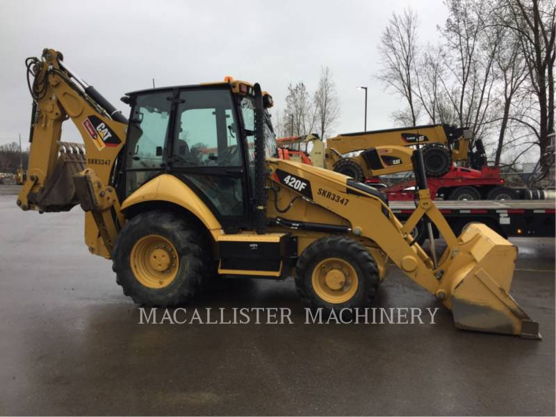 CATERPILLAR 挖掘装载机 420FST equipment  photo 1