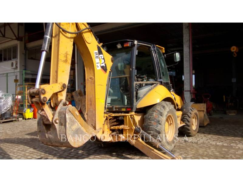 CAT TRADE-IN BAGGERLADER 416E equipment  photo 2