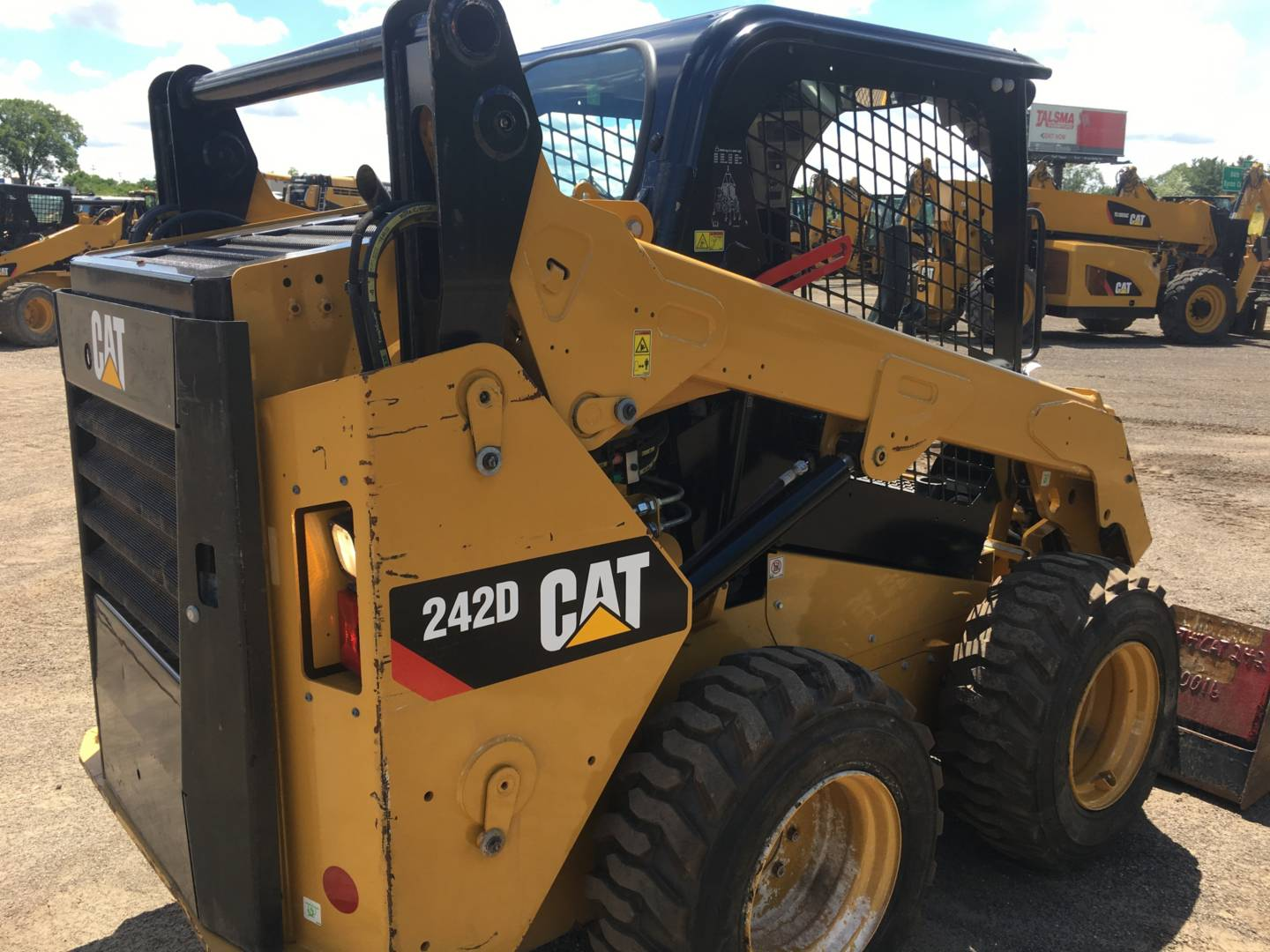 Used 2015 Caterpillar 242d For Sale Whayne Cat