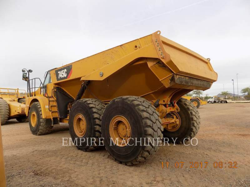 CATERPILLAR OFF HIGHWAY TRUCKS 745C equipment  photo 3
