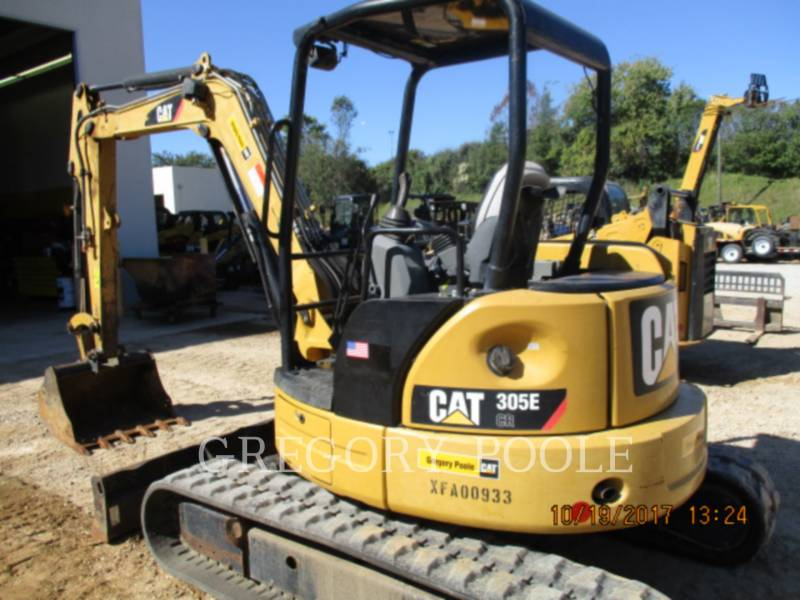 CATERPILLAR PELLES SUR CHAINES 305 CR equipment  photo 4
