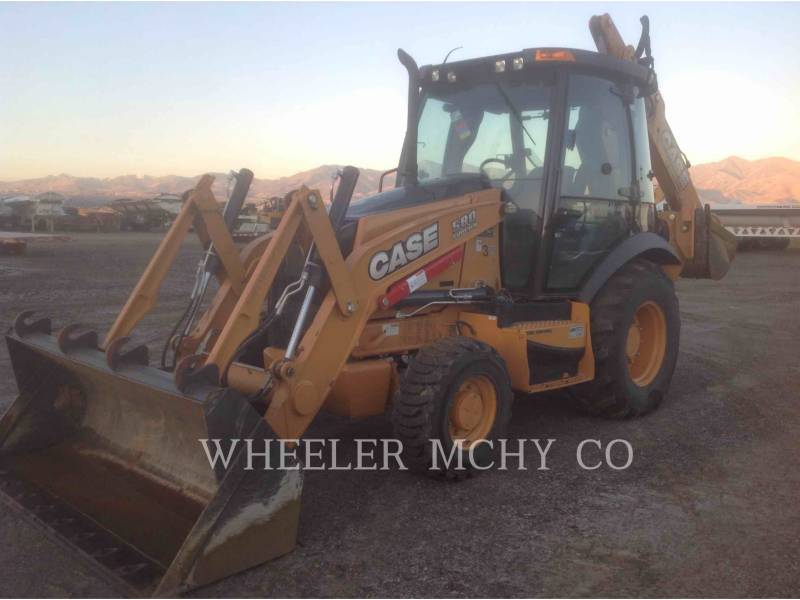 CASE BACKHOE LOADERS 580SN equipment  photo 13