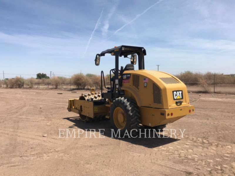 CATERPILLAR COMPATTATORE A SINGOLO TAMBURO VIBRANTE TASSELLATO CP44B equipment  photo 1