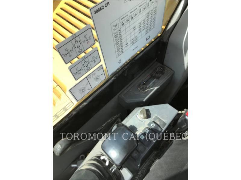 CATERPILLAR TRACK EXCAVATORS 308E2 CR equipment  photo 24
