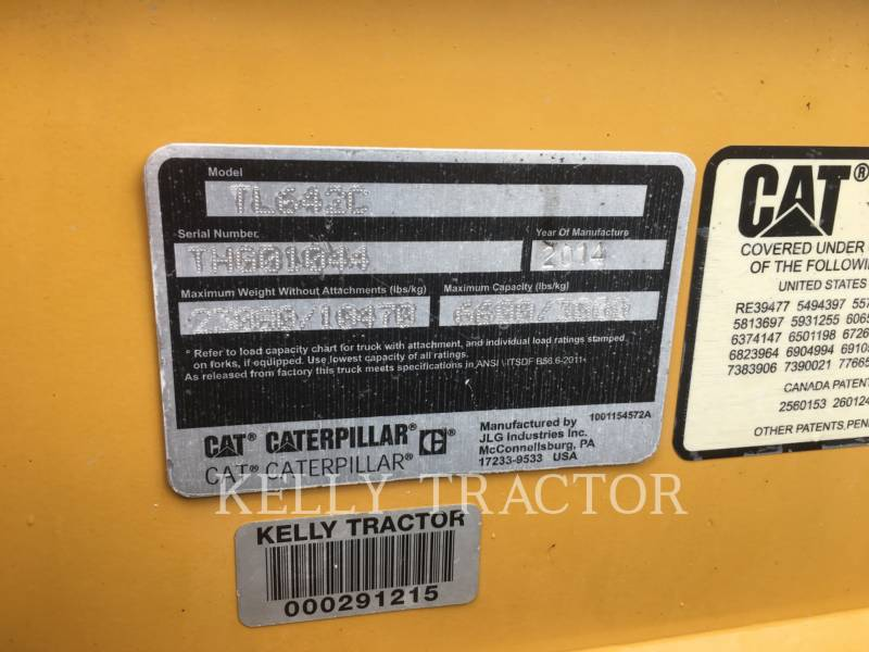 CATERPILLAR TELESKOPSTAPLER TL642C equipment  photo 18
