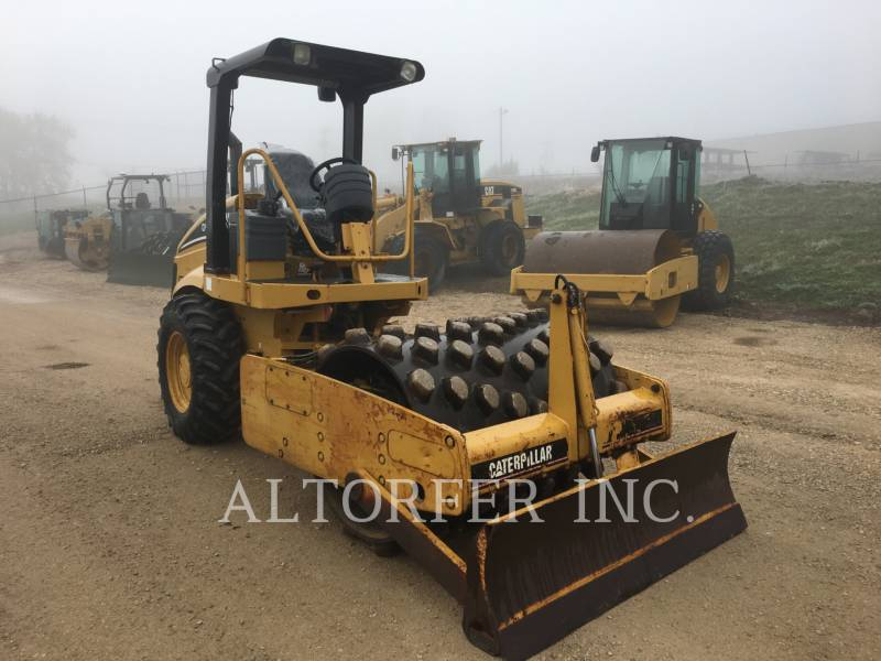 CATERPILLAR VIBRATORY SINGLE DRUM SMOOTH CP433E equipment  photo 6