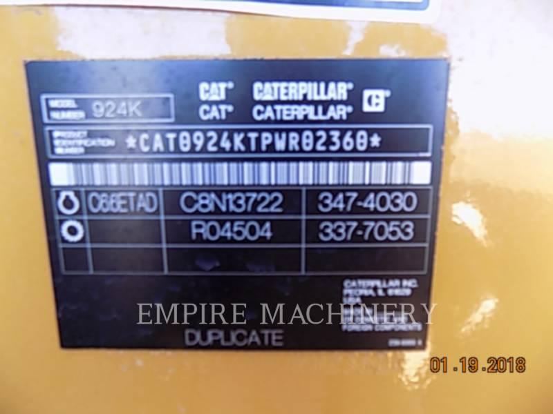 CATERPILLAR WHEEL LOADERS/INTEGRATED TOOLCARRIERS 924K equipment  photo 2