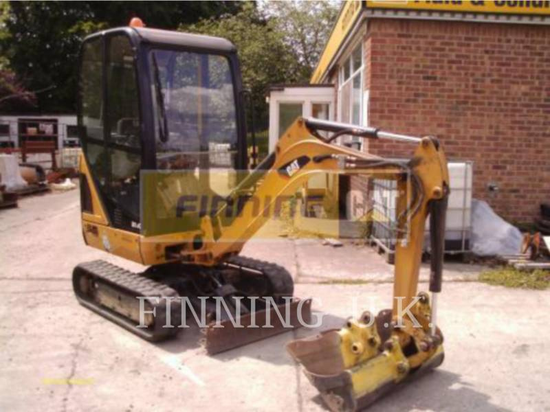 CATERPILLAR TRACK EXCAVATORS 301.4CEXCB equipment  photo 2