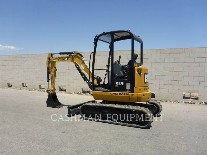 CATERPILLAR EXCAVADORAS DE CADENAS 302.7D CR equipment  photo 3