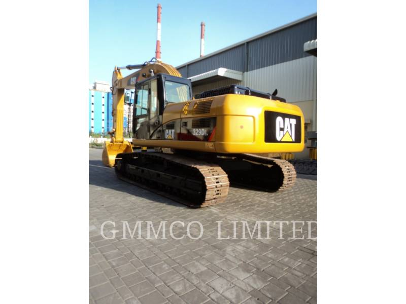 CATERPILLAR TRACK EXCAVATORS 329D equipment  photo 7