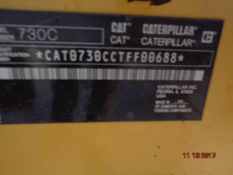 CATERPILLAR TOMBEREAUX ARTICULÉS 730C equipment  photo 21