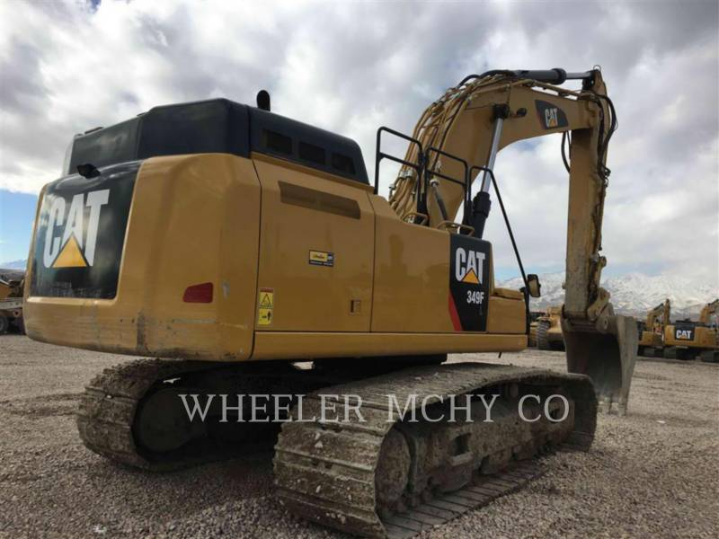 CATERPILLAR EXCAVADORAS DE CADENAS 349F L THM equipment  photo 3