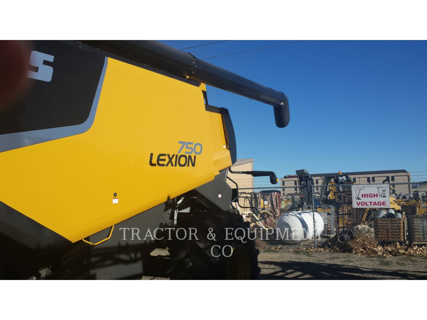 Detail photo of 2012 Lexion LX750 from Construction Equipment Guide