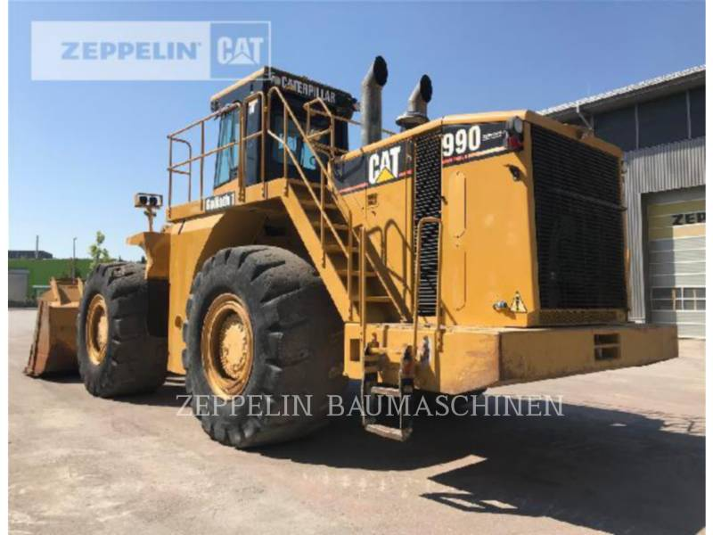 CATERPILLAR WHEEL LOADERS/INTEGRATED TOOLCARRIERS 990 equipment  photo 6