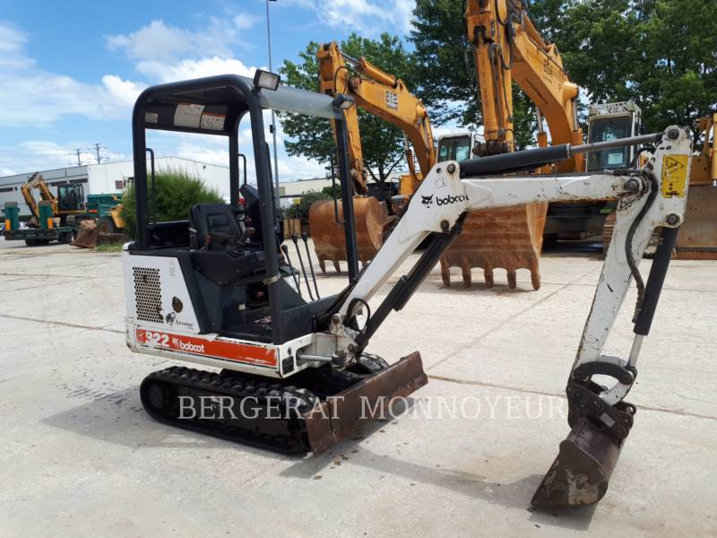 BOBCAT TRACK EXCAVATORS 322 equipment  photo 5