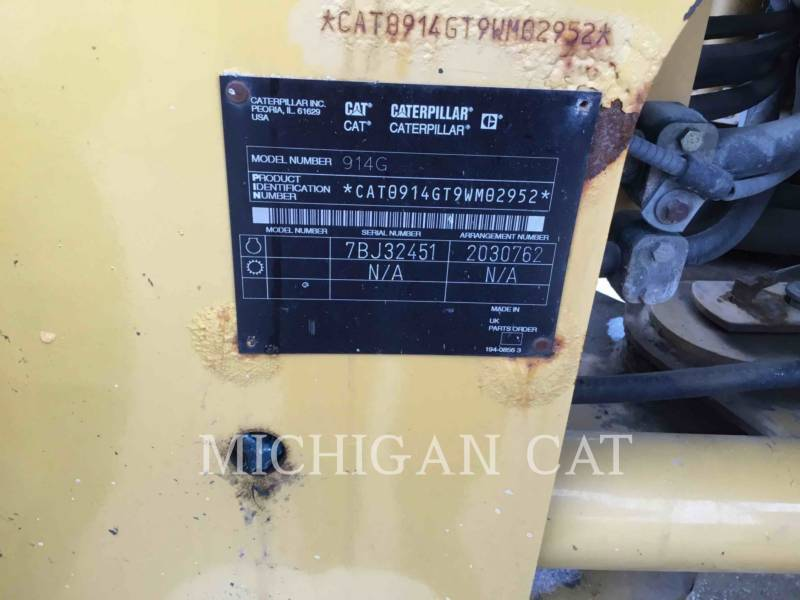 CATERPILLAR WHEEL LOADERS/INTEGRATED TOOLCARRIERS 914G equipment  photo 20