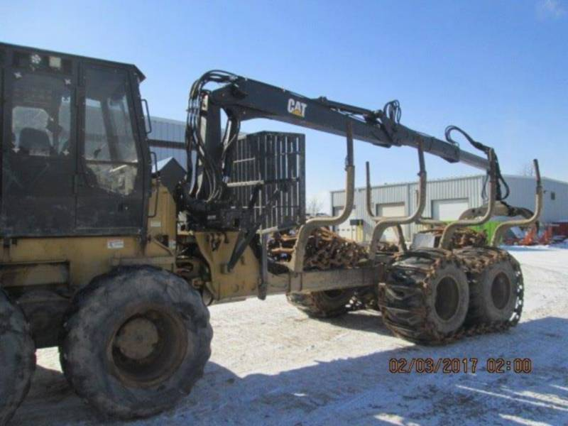 CATERPILLAR FORESTRY - FORWARDER 574 equipment  photo 5