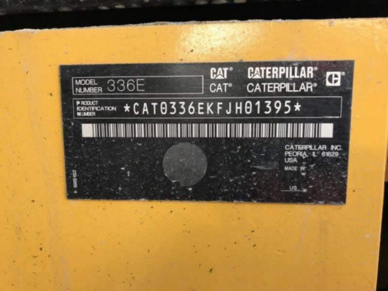 CATERPILLAR EXCAVADORAS DE CADENAS 336EL equipment  photo 2