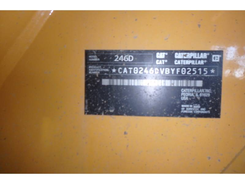CATERPILLAR CHARGEURS COMPACTS RIGIDES 246D equipment  photo 15