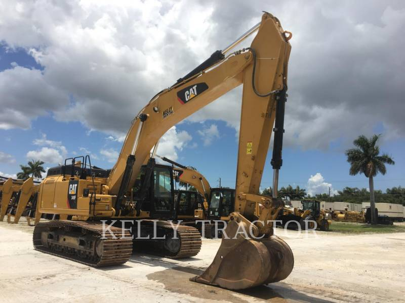 CATERPILLAR KETTEN-HYDRAULIKBAGGER 349FL equipment  photo 7
