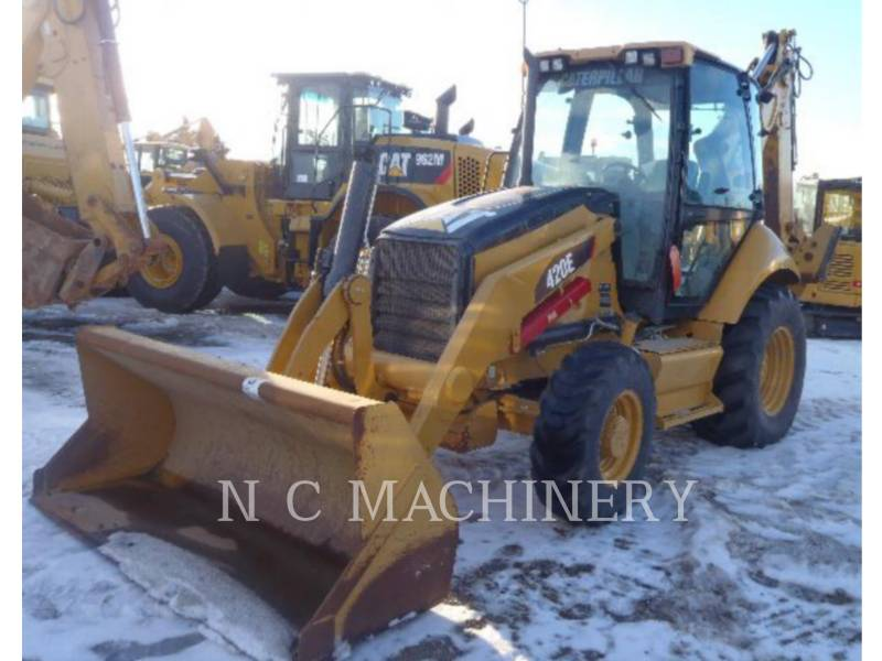 CATERPILLAR CHARGEUSES-PELLETEUSES 420E 4ECB equipment  photo 1