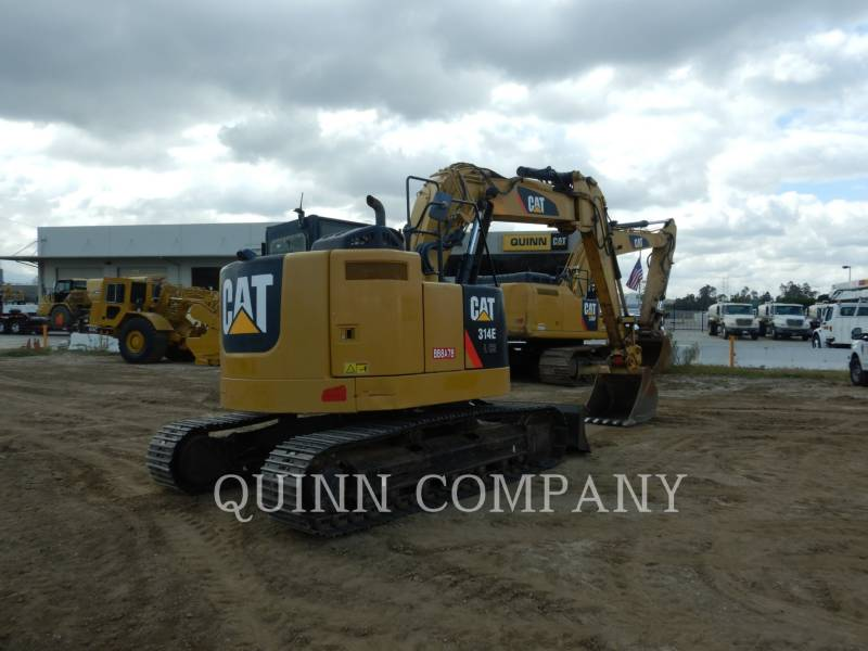 CATERPILLAR TRACK EXCAVATORS 314E LCR equipment  photo 5