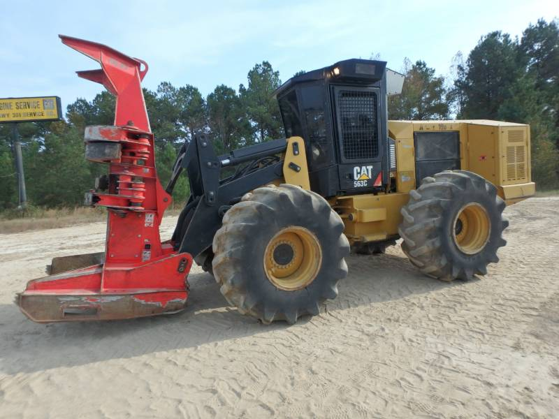 CATERPILLAR FORESTAL - TALADORES APILADORES - DE RUEDAS 563C equipment  photo 1