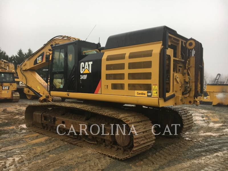 CATERPILLAR TRACK EXCAVATORS 349F equipment  photo 2