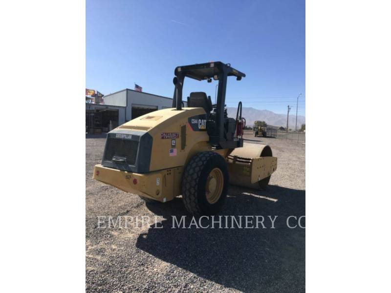 CATERPILLAR COMPACTEUR VIBRANT, MONOCYLINDRE À PIEDS DAMEURS CS44 equipment  photo 3