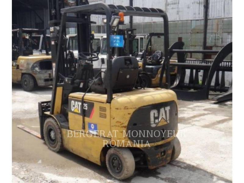 MITSUBISHI CATERPILLAR FORKLIFT FORKLIFTS EP25KPAC equipment  photo 3