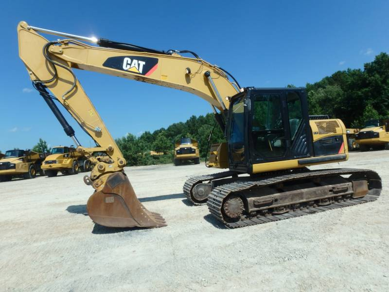 CATERPILLAR TRACK EXCAVATORS 320DLRR equipment  photo 1