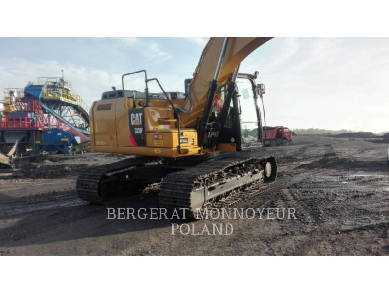 CATERPILLAR TRACK EXCAVATORS 320F equipment  photo 3