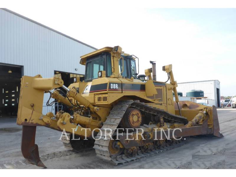 CATERPILLAR TRACK TYPE TRACTORS D8RII equipment  photo 3