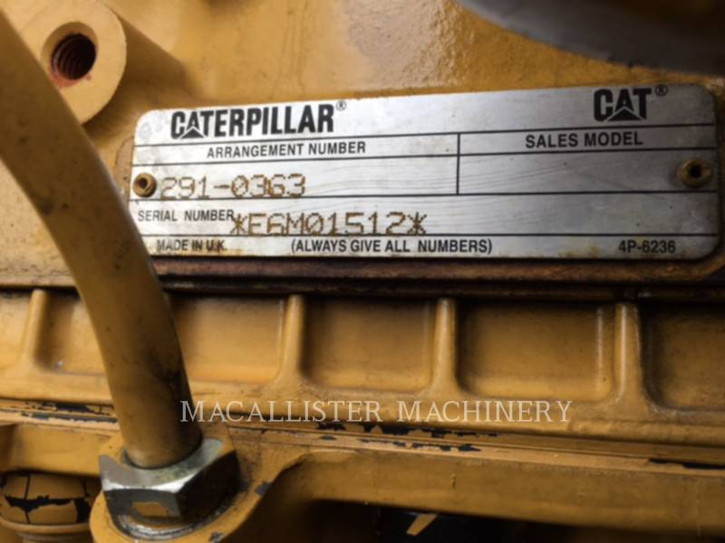 CATERPILLAR PORTABLE GENERATOR SETS XQ 175 equipment  photo 10