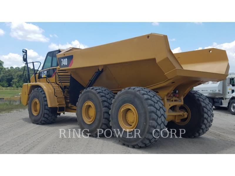 CATERPILLAR DUMPER ARTICOLATI 740 equipment  photo 4