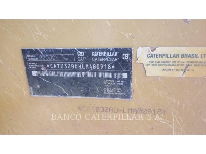 CATERPILLAR KETTEN-HYDRAULIKBAGGER 320D2 equipment  photo 9