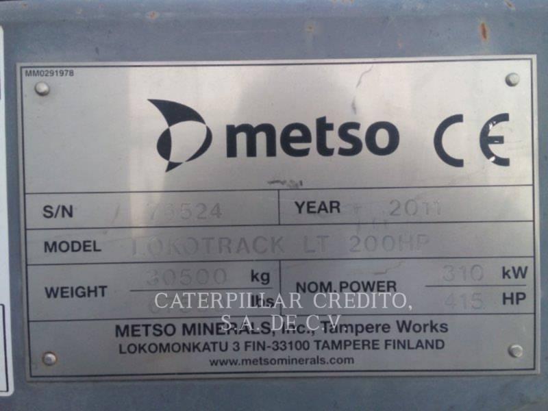 METSO CRUSHERS LT200  HP equipment  photo 2