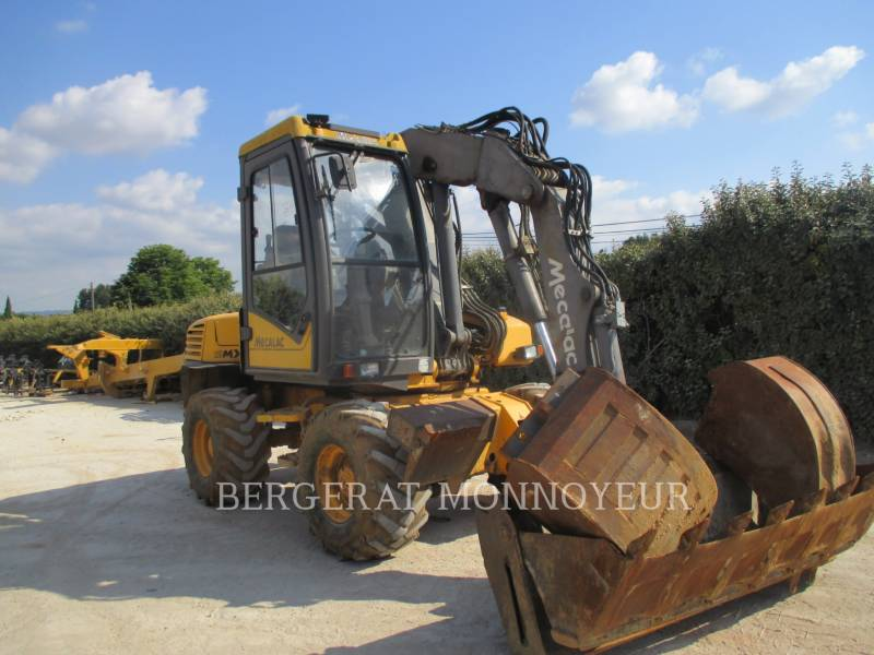 MECALAC EXCAVADORAS DE RUEDAS 12MXT equipment  photo 15