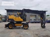 Equipment photo VOLVO CONSTRUCTION EQUIPMENT EW160C MOBILBAGGER 1