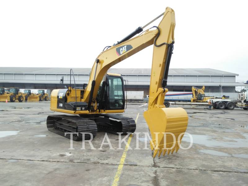 CATERPILLAR KETTEN-HYDRAULIKBAGGER 313D equipment  photo 3