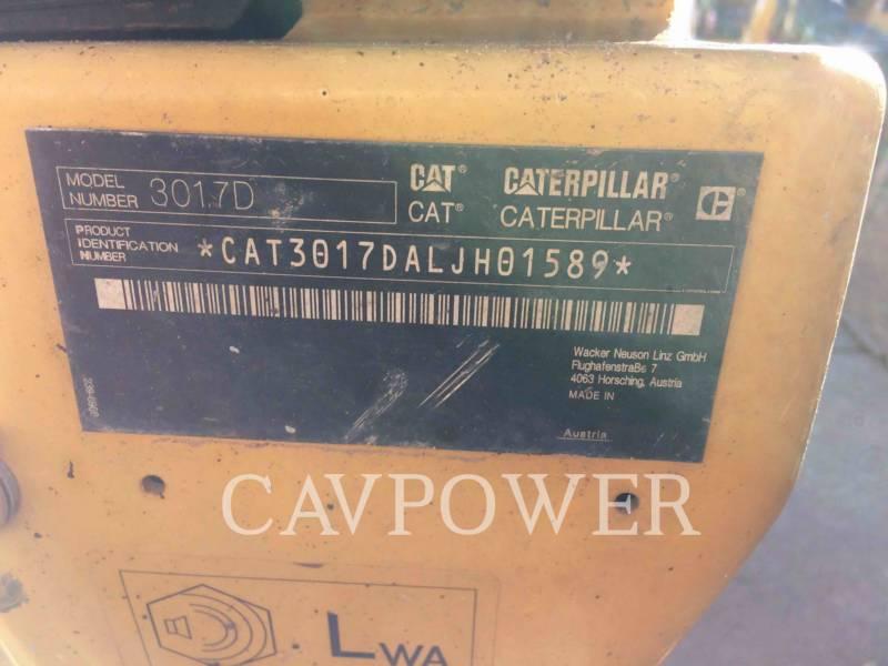 CATERPILLAR PELLES SUR CHAINES 301.7D equipment  photo 9